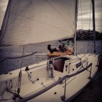 Sailing lessons meant to be used on my 28th birthday but were postponed until my 29th!